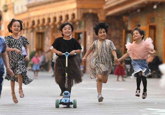 Study explains population change in Xinjiang